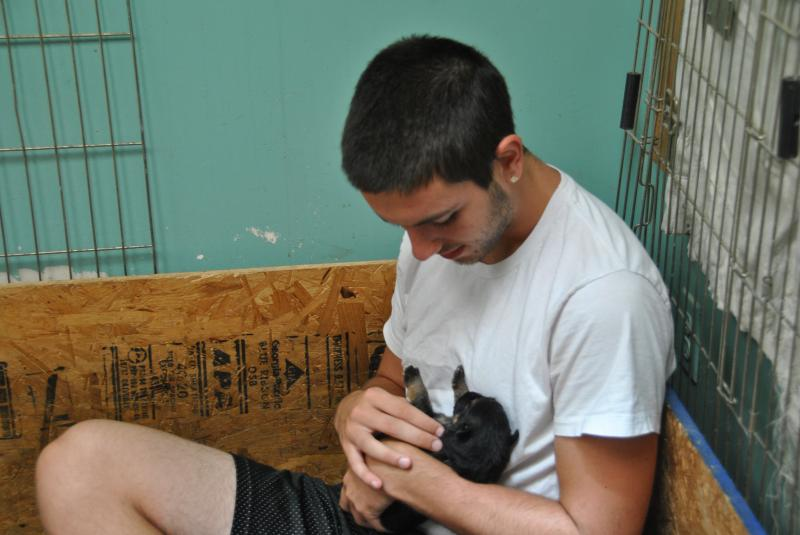 He also is very excited to bring a puppy hm