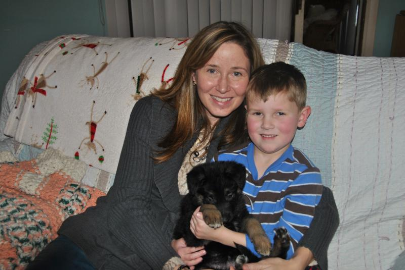 This family is very special and will love their puppy